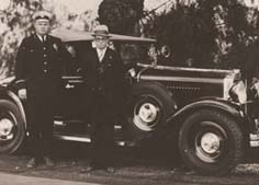 Tustin's first police car